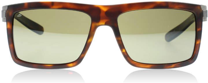Serengeti Brera Sunglasses Satin Tortoise 7929 Polariserade 55mm