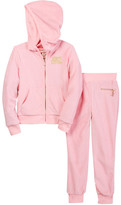 Juicy Couture Terry Hoodie & Pant Set (Little Girls)