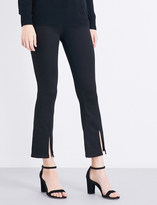 MiH Jeans Marrakesh split-hem flared high-rise jeans
