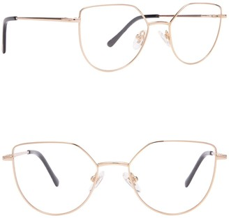 Diff Eyewear Pixie 48mm Cat Eye Blue Light Blocking Glasses