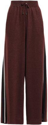 Brunello Cucinelli Bead-embellished Cashmere-blend Track Pants