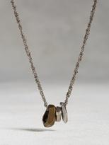 John Varvatos Brass Open Link Necklace