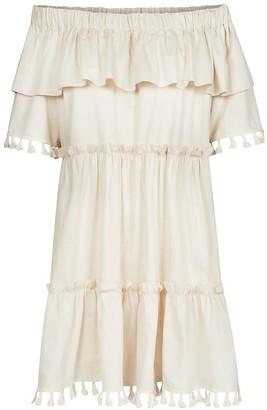 Bea Yuk Mui Off-The-Shoulder Organic Cotton Dress
