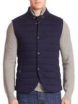 Ralph Lauren Purple Label Quilted Vest