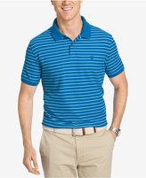 Izod Men's Advantage Performance Striped Golf Polo