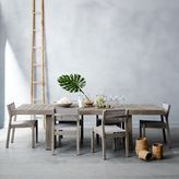 west elm Portside Textilene Dining Chair - Weathered Gray