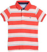 Mayoral Short-Sleeve Multi-Stripe Polo, Size 4-7