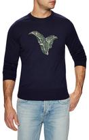 Michael Bastian Banana Leaf Cashmere Crewneck Sweater