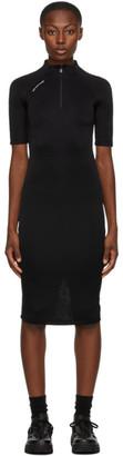 Alyx Black Half-Zip Dress
