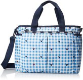 Le Sport Sac Ryan Baby Diaper Carry On Bag, Checks/Bows, One