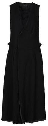 Y'S YOHJI YAMAMOTO 3/4 length dress