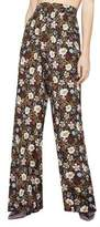 BCBGeneration Far East Floral Palazzo Pants