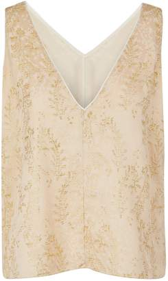 "Forte Forte Gipsy Gold"" jacquard top"