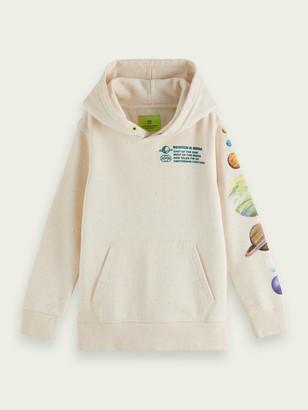 Scotch & Soda Long sleeve space art hoodie | Boys