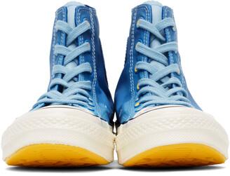 Converse Blue Gradient Chuck 70 Hi Sneakers