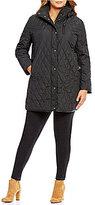 Lauren Ralph Lauren Plus Size Hooded Quilted Coat