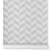 ferm LIVING Angle Wallpaper - Grey - 10.05 x 0,53 m