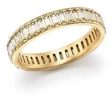 Armenta 18K Yellow Gold Sueno Channel-Set White Sapphire Eternity Ring