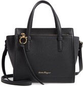 Salvatore Ferragamo Mini Amy Leather Tote