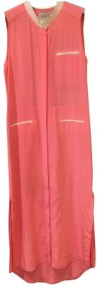 Sea New York Orange Silk Dresses