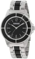 Versus By Versace Women's AL13LBQ809A999 Tokyo Black Dial Stainless Steel Bracelet Watch