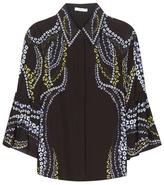 Erdem Alita printed silk blouse