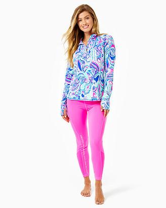 "Lilly Pulitzer UPF 50+ Luxletic 24"" Weekender High Rise Midi Legging"