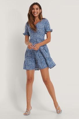 Trendyol Carmen Pattern Mini Dress