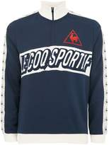 Le Coq Sportif Blue Football Zip Sweatshirt*