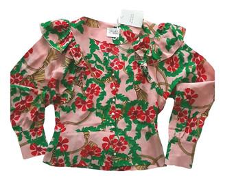 Hayley Menzies Pink Silk Tops