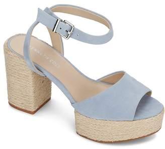 Kenneth Cole Women's Phoenix High Block Heel Platform Sandals