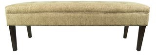 Mjl Furniture Designs Kaya Button Tufted Upholstered Long Bench
