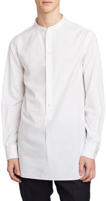 The Row Men's Ringo Half-Placket Mandarin-Collar Sport Shirt