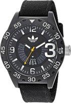 adidas Men's 'Newburgh' Quartz Plastic and Nylon Casual Watch, Color: (Model: ADH3157)