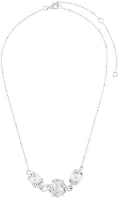 Kasun London Three Pearl Necklace