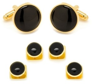 Ox & Bull Trading Co. Men's Cufflink and Stud Set