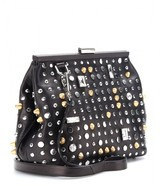 3.1 Phillip Lim Frame embellished leather clutch