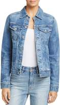 AG Jeans Led Denim Jacket in 10 Years Magnetic Blue