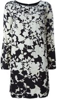 Twin-Set floral print long-sleeve dress - women - Polyester/Viscose - S
