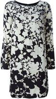 Twin-Set floral print long-sleeve dress