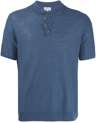Brioni textured polo shirt