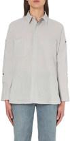 Helmut Lang Cutout cotton shirt