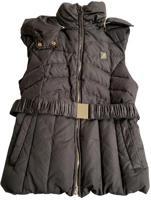 Guy Laroche Black Polyester Coats