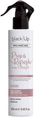 black'Up Black-Up Prep & Refresh Keep It Straight - Smoothing Leave-In Milk 250Ml