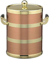 Kraftware 5-qt. Copper and Brass Ice Bucket