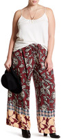 Angie Printed Soft Pant (Plus Size)