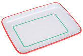 Sunnylife White Enamel Plate