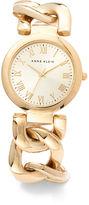 Anne Klein Large Link Bracelet Watch