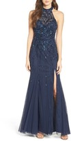 Sean Collection Women's Embellished Mesh Gown