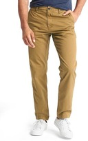 Gap Vintage washed straight fit khakis